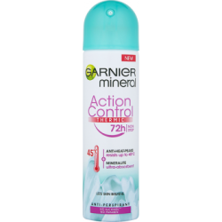 Garnier Mineral Action Control Thermic Antyperspirant w sprayu bez alkoholu 150 ml