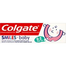 Colgate Smiles Baby Przeciwpróchnicza pasta do zębów dla dzieci 0-2 lat 50 ml
