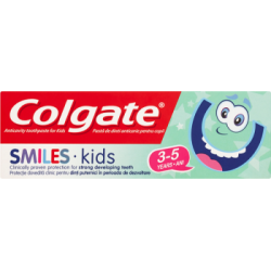 Colgate Smiles Kids Przeciwpróchnicza pasta do zębów dla dzieci 3-5 lat 50 ml