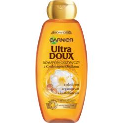 Garnier Ultra Doux Szampon odżywczy z cudownymi olejkami do włosów zniszczonych 400 ml