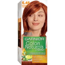 Garnier Color Naturals Creme Farba do włosów 6.46 Miedziana czerwień
