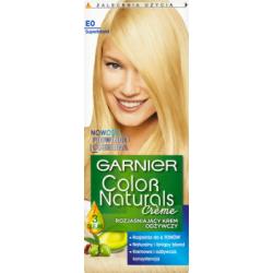 Garnier Color Naturals Creme Rozjaśniający krem odżywczy E0 Superblond