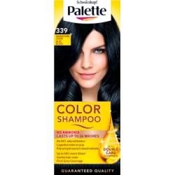 Palette Color Shampoo Szampon koloryzujący Granatowa czerń 339