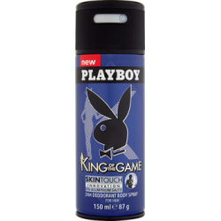Playboy King Of The Game Dezodorant w sprayu dla mężczyzn 150 ml
