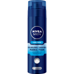 NIVEA MEN Cool Kick Pianka do golenia 200 ml