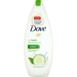Dove Go Fresh Cucumber & Green Tea Scent Odżywczy żel pod prysznic 250 ml