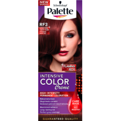 Palette Intensive Color Creme Farba do włosów Intensywny ciemny rubin RF3
