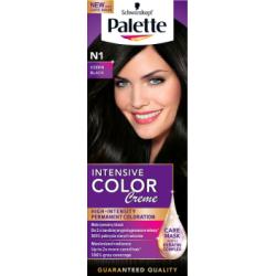 Palette Intensive Color Creme Farba do włosów Czerń N1