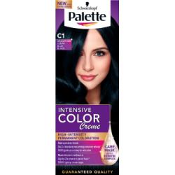 Palette Intensive Color Creme Farba do włosów Granatowa czerń C1