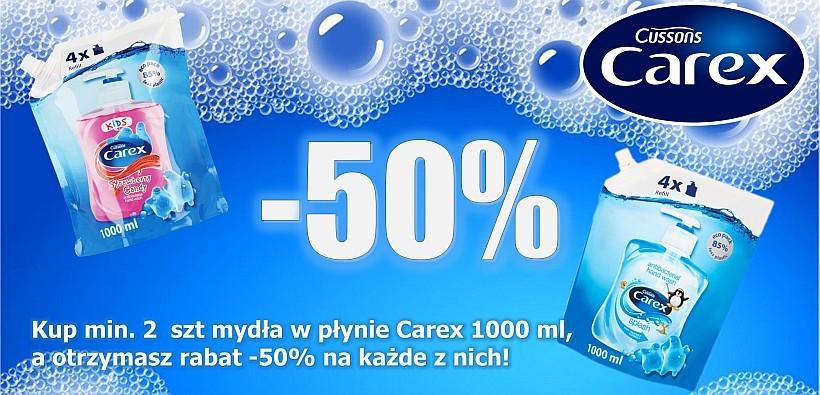 Kup w rajsklep.pl mydło w płynie Carex