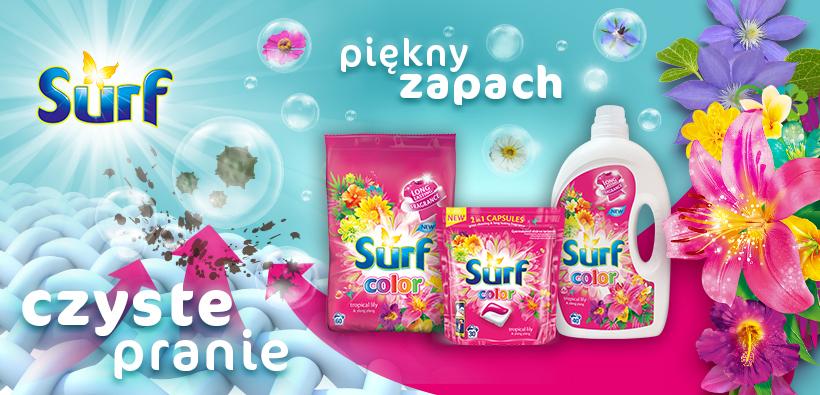 Surf produkty do prania Unilever