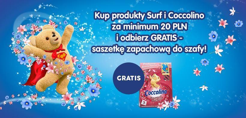 Kup Surf lub Coccolino i odbierz GRATIS!
