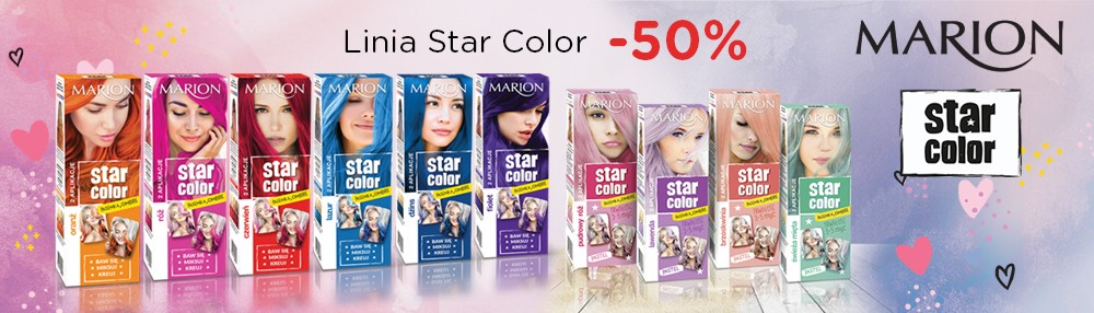 Marion farby Star Color -50%