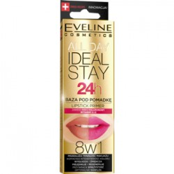 Eveline Baza pod pomadkę ALL DAY IDEAL STAY 7 ml