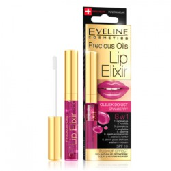 Eveline PRECIOUS OILS LIP ELIXIR Olejek do ust CRANBERRY 8w1 7 ml