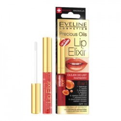 Eveline PRECIOUS OILS LIP ELIXIR Olejek do ust Raspberry 8w1 7 ml