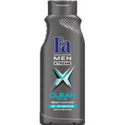 Fa Men Xtreme Clean Pulse Żel pod prysznic 400 ml