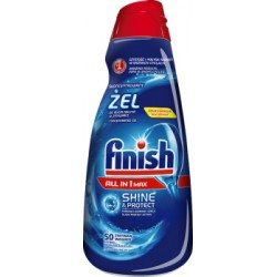 Finish żel do zmywarki All in 1 Max Shine & Protect 1l width=