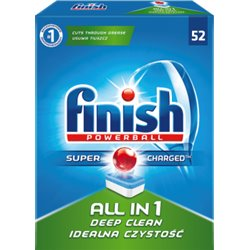 Finish All in 1 Tabletki do zmywarki 941,2 g (52 sztuki)