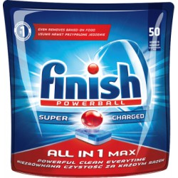 Finish All in 1 Max Tabletki do zmywarki 905 g (50 sztuk)