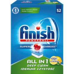 Finish All in 1 Lemon Tabletki do zmywarki 941,2 g (52 sztuki)