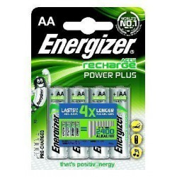 Akumulator Energizer Power Plus AA/4 (2000 mAh)