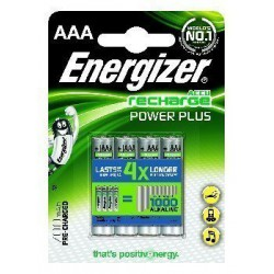 Akumulator Energizer Power Plus AAA/4 (700 mAh)
