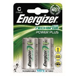 Akumulator Energizer Power Plus C/2 (2500mAh)