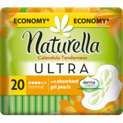 Naturella Ultra Normal Calendula Tenderness podpaski 20 sztuk