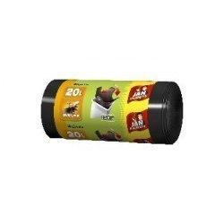 Jan Niezbędny Worki na śmieci HD Easy-pack czarne 20l 40szt