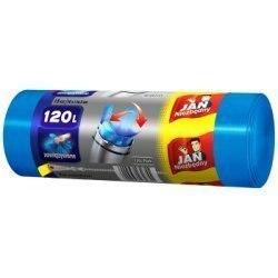 Jan Niezbędny Worki na śmieci HD Easy-pack niebieskie 120l 15szt