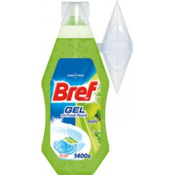 Bref WC with Fresh Pearls Apple Żel do toalet 360 ml width=