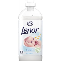 Lenor Sensitive Płyn do płukania tkanin 1,9 l, 63 prania