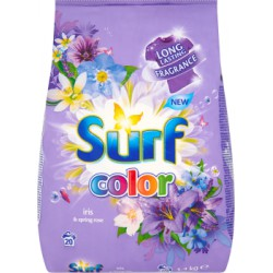 Surf Color Iris & Spring Rose Proszek do prania 1,4 kg (20 prań)