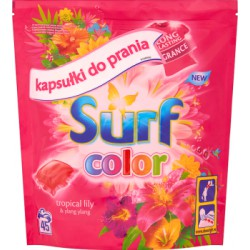 Surf Color Tropical Lily & Ylang Ylang Kapsułki do prania 1183 g (45 prań)