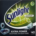 Sunlight All in 1 Expert Extra Power Tabletki do zmywarki 700 g (40 sztuk)