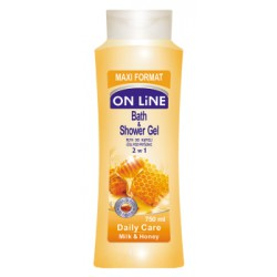 ON LiNE Żel i płyn do kapieli 2 w 1 daily care 750 ml