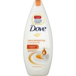 Dove Purely Pampering with Natural Caring Oils Odżywczy żel pod prysznic 250 ml