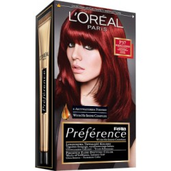 Loreal Feria Preference Farba do włosów P37 Pure Plum Power