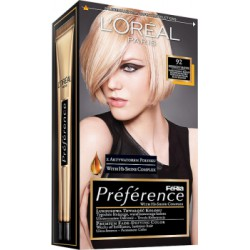 Loreal Feria Preference Farba do włosów 92 Iridescent Blonde