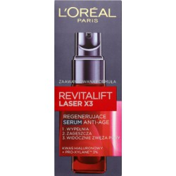 Loreal Paris Revitalift Laser X3 Regenerujące serum Anti-Age 30 ml