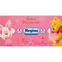 Regina Chusteczki kosmetyczne 4 warstwowe Delicatis premium 120 sztuk