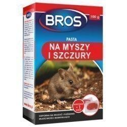 Bros pasta na myszy i szczury 100g