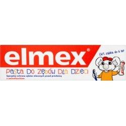 Elmex Pasta do zębów dla dzieci z aminofluorkiem od 1 ząbka do 6 lat 50 ml