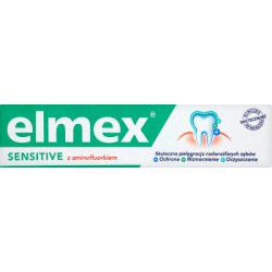 Elmex Sensitive z aminofluorkiem Pasta do zębów 75 ml