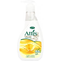 Attis creamy 400ml mydło w płynie /mleko i miód/
