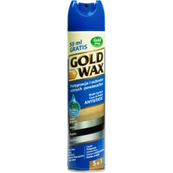 Gold Wax preparat do czyszczenia mebli spray antistatic 300ml