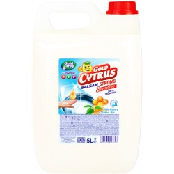 Gold Cytrus balsam do naczyń Strong MILK & green tea 5l