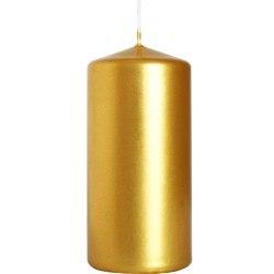 Bispol świeca walec sw50/100 złoty metalik