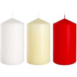 Bispol świeca walec sw80/150 biała